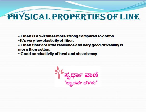 PHYSICAL PROPERTIES OF LINE